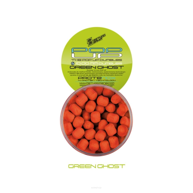 Dumbells Method Mania Pop-Up 10mm -  Green Ghost
